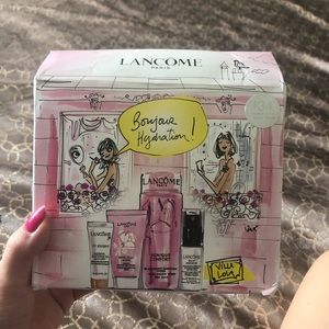 Lancôme hydration set! See pictures what products